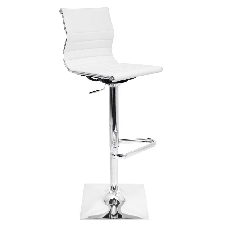 Master Adjustable Contemporary Barstool   Overstock.com Shopping - The Best Deals on Bar Stools