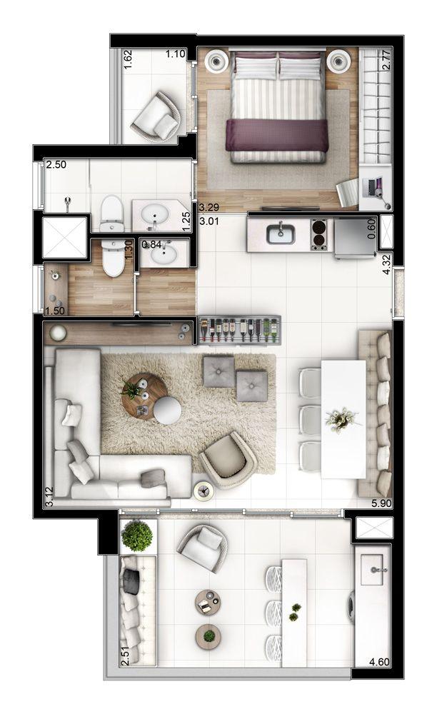 Neorama - Floor Plan - Setin/Mondial São Bernardo