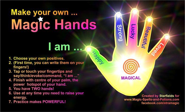 Magic hands happy hands hands of power is an example