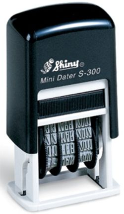 Staedtler Self-Inking Mini Date Stamp - Blk