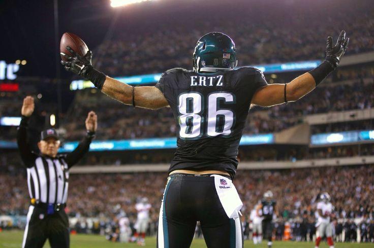Zack Ertz Philadelphia Eagles touchdown