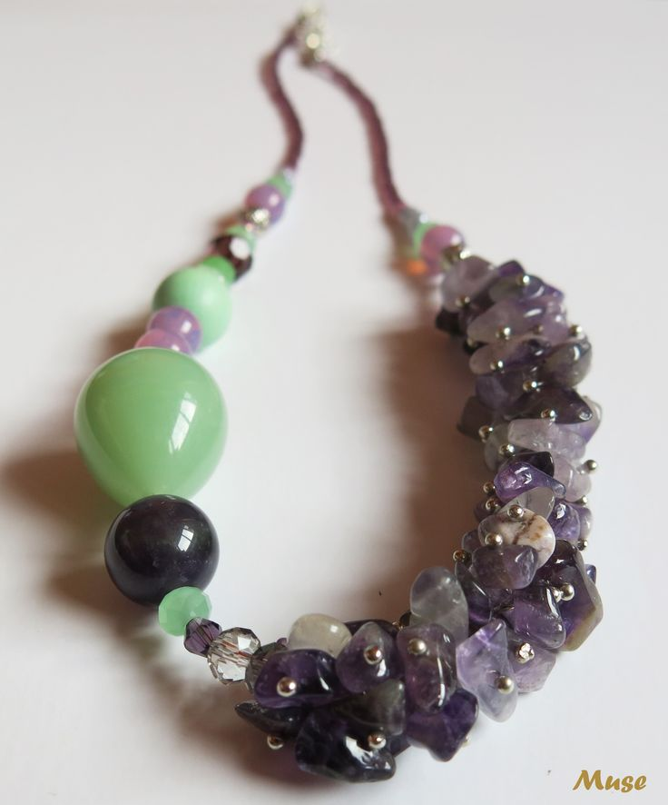 Lavender Dreams - Muse Unique Handmade Jewelry (Amethyst)
