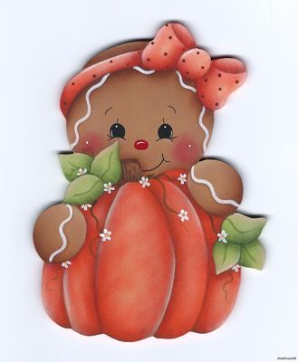 Gingerbread pumpkin