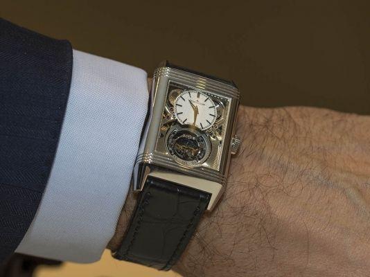 Compraventa de relojes de lujo JBarrionuevo - El Reverso Tribute Gyrotourbillon de Jaeger-LeCoultre