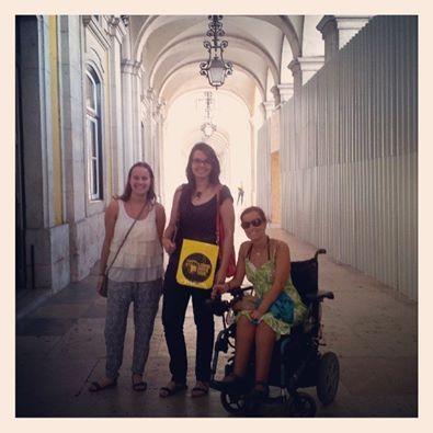 O #passeio da LMT - Lisbon Movie Tour do Filme do Desassossego foi aprovado pela Lisboa Inacessível. Obrigado!!!!