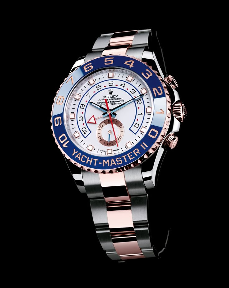 Rolex YachtMaster II Rose Gold/Stainless