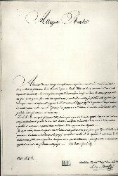 Lettera autogru di Ciro Menotti