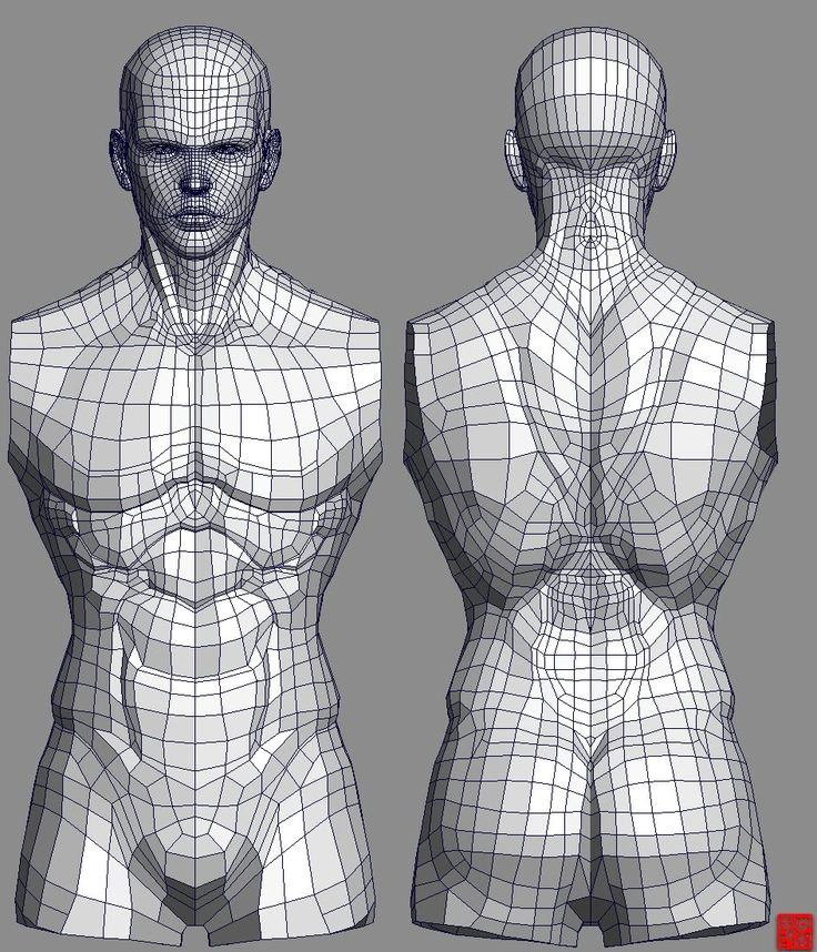 (W.I.P)Real type 3D character modeling Character