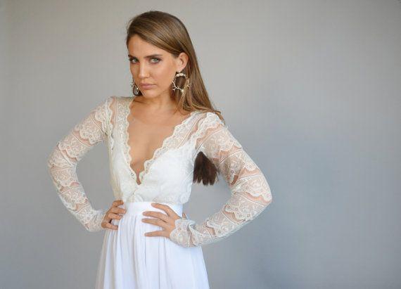 25+ Cute Chiffon Wedding Dresses Ideas On Pinterest
