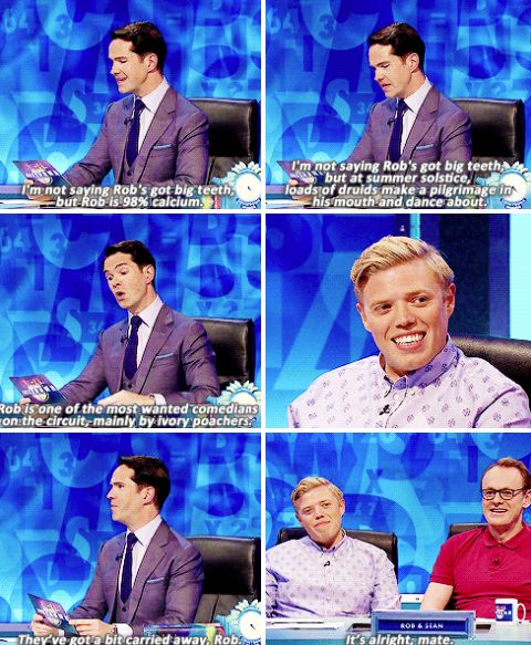 """When Jimmy went after Rob Beckett's easy target. 