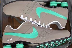 Nike Shox Deliver Men Sz 10 0 Sport Gray Teal Black Running New ...