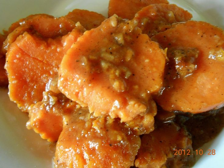 Southern Candied Sweet Potatoes Recipe — Dishmaps