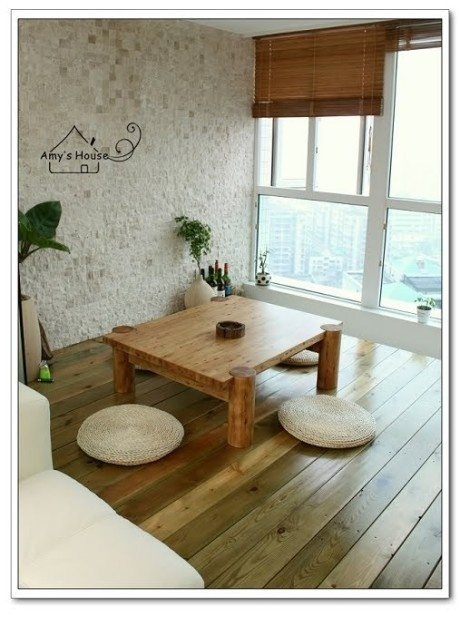 Simple And Beautiful Japanese Style Room Floor Seating Living