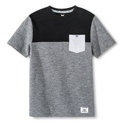 Boys' Shaun White Pocket T-Shirt Gray   MEDIUM