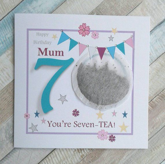 Personalised 70th Birthday Card Mum 70th Birthday Grandma Auntie Nan 70th Birthday Card Birthday Card Craft 60th Birthday Cards