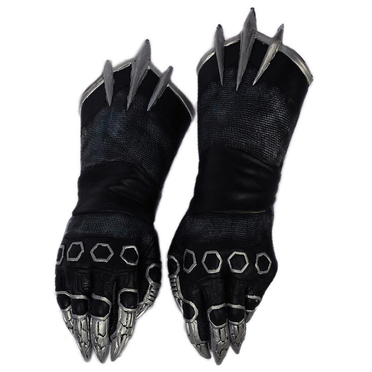 Black Panther Costume Claw Gloves