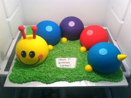 Baby einstein birthday cake lilly 39 s birthday pinterest for Baby einstein decoration