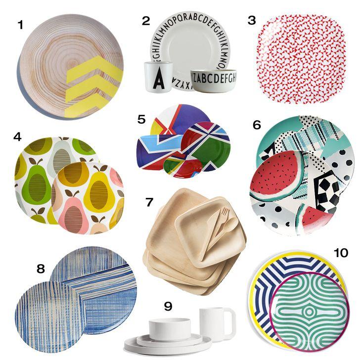 Outdoor Dinnerware at Design-Milk