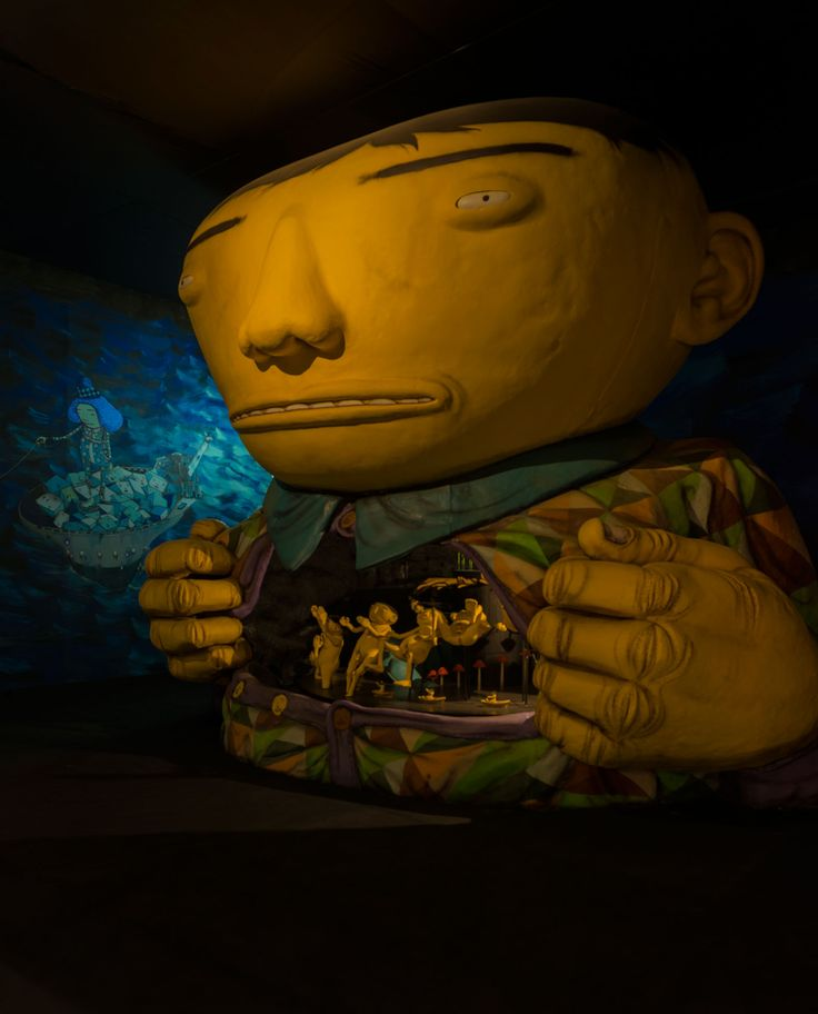 OPERA OF THE MOON | OSGEMEOS Official Website – projects and news