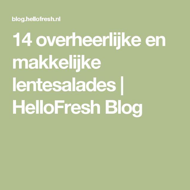 14 overheerlijke en makkelijke lentesalades | HelloFresh Blog