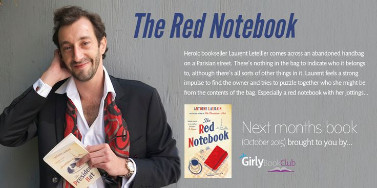 Girly Book Club choice is The Red Notebook!
