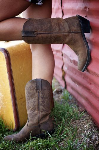 Love these boots! Get them from Cavender's.