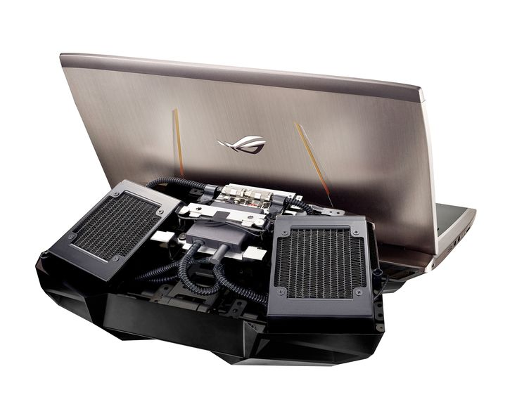 Gallery: ASUS ROG GX700 Gaming Laptop With Liquid-Cooling – Republic of Gamers