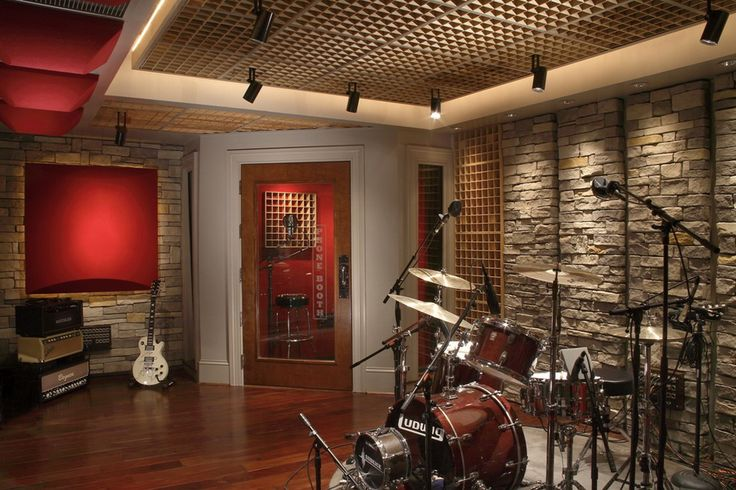 Luxury Basement Studio Ideas
