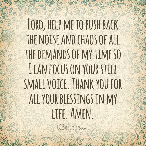 Thank You For Putting Up With Me Quotes: Lord, Help Me Take Time To Focus On You Https://www
