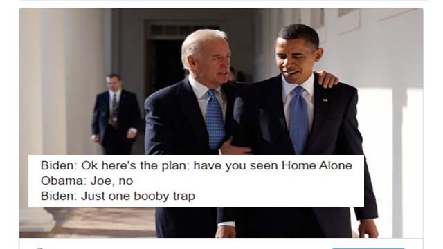 Hilarious Imagined Conversations Between Barack Obama And Joe Biden After The Election.