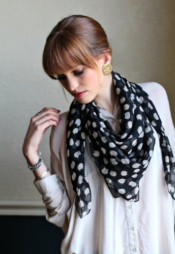 Scarf for #catlovers @Kitty Purring #scarf #womenscarf