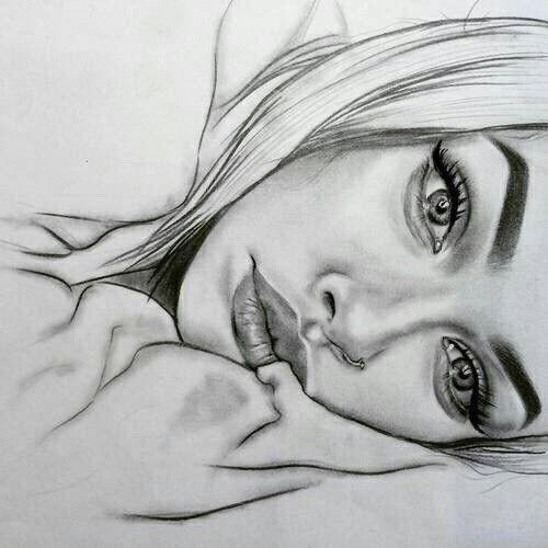 Zeichne das Gesicht seitlich, #das #Gesicht #seitl…
