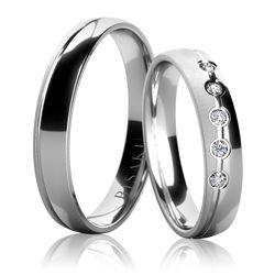 Snubní prsten, model č. 4585
