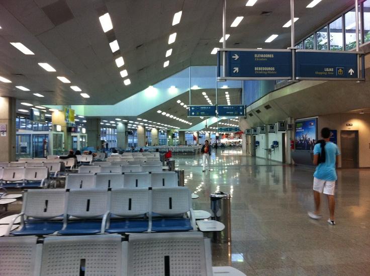 Squeaky clean domestic departure terminal at Rio de