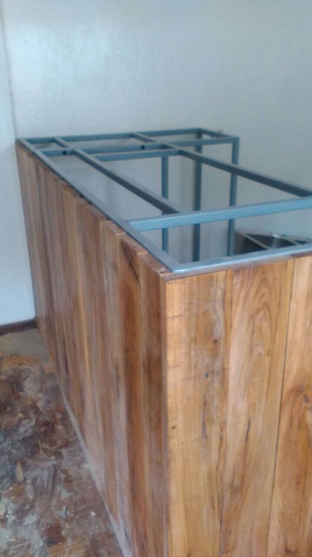 Bar constructie