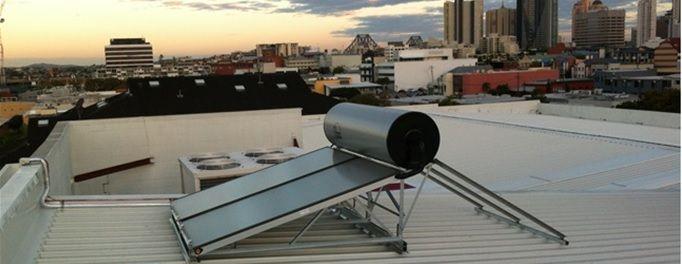 Roof top solar installation in Brisbane