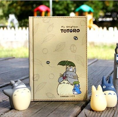 2014 My Neighbor TOTORO Animation Diary Planner Journal Scheduler Cute Kawaii