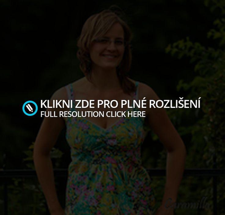 Krátké letní květinové šaty | Ekozahrada - Blog Petry Macháčkové / Caramilla