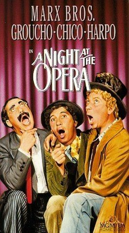 A Night at the Opera (1935) Groucho Marx, Chico Marx, Harpo Marx
