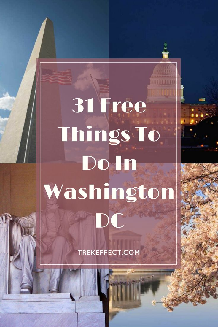 From its glorious Smithsonian museums to its eye-catching treasured memorials, there are literally hundreds of fabulous free things to do in Washington DC.  Trust me, this huge American city is all about FREEdom!