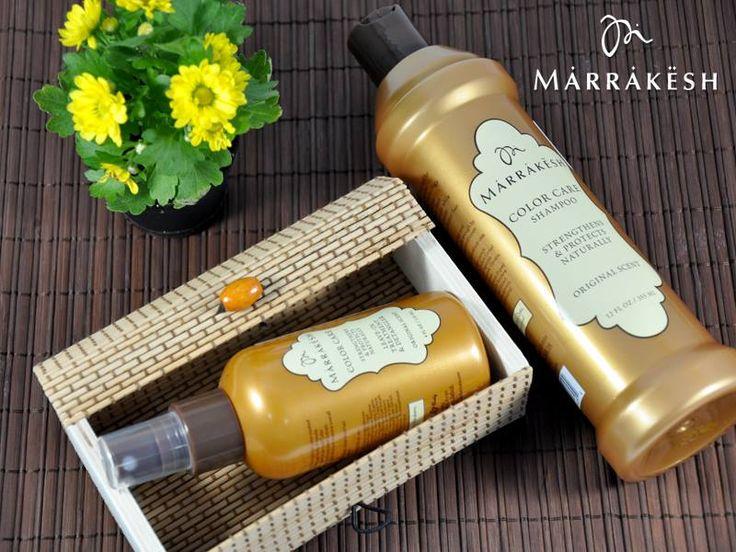 Părul vopsit are nevoie de mai multă atenţie şi îngrijire. Introdu Marrakesh Color Care in rutina ta zilnică şi părul tău îşi va recăpăta hidratarea şi catifelarea, iar culoarea sa va rămâne intensă! Hrăneşte-ţi părul cu forţa naturii! Cumpără de aici: https://www.pestisoruldeaur.com/marrakesh/Color-Care-Pentru-parul-vopsit-si-deteriorat