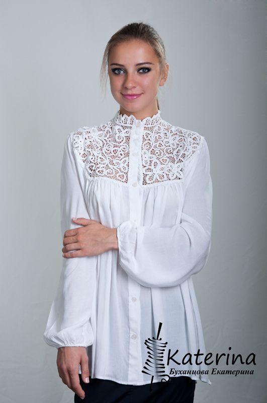 Big-size light blouse-1 | by Katerina Bukhantsova