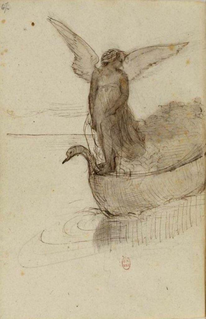 Dionyssos tumbir: madivinecomedie:  Edgar Degas. Carnet de dessins...