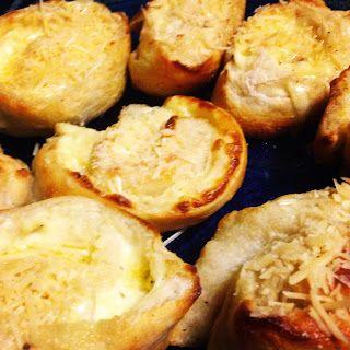Cheese and Garlic Doughballs