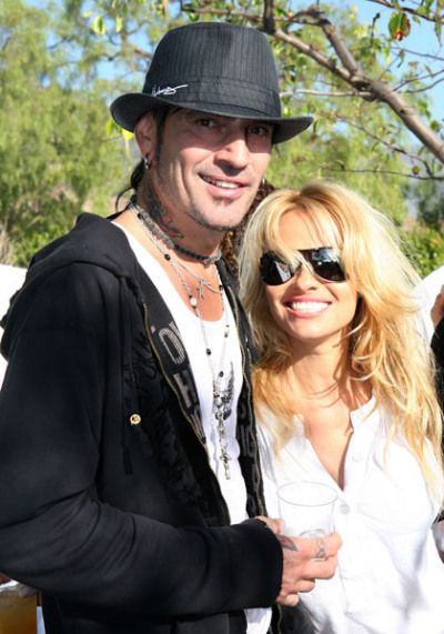 Pam Anderson and Tommy Lee: The former Baywatch babe and Motley Crue drummer's home video of their honeymoon sex caused a stir after it was stolen from their home in 1995 and leaked online. In 1998, Pam sued the distribution company and the couple reportedly won $1.5 million in damages—with the company allowed to make money off the very popular tape!