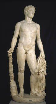 """Heracles"", Taller romano, Ca. 200, Mármol"