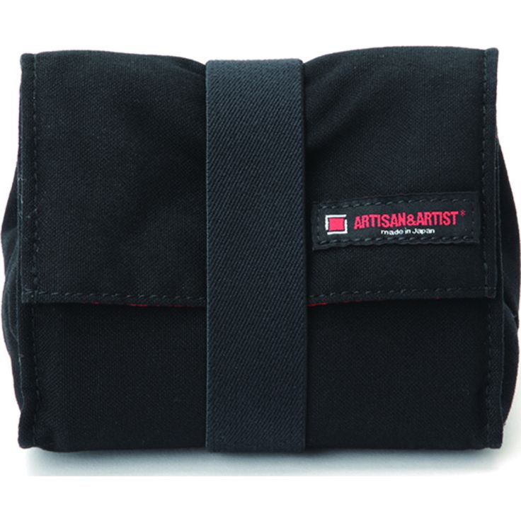 Artisan&Artist Canvas Camera Pouch | Black