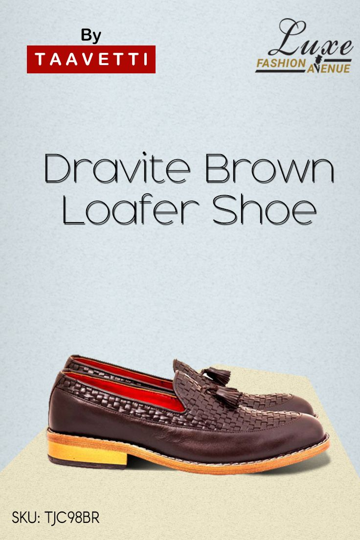 Dravite Brown Loafer Shoe