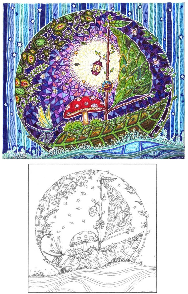 Enchanted forest coloring book website - My Beloved Coloring Book Ink Artist Johanna Basford Publication The Old Lion Publishing House Vydavnytstvo Staroho Leva Lviv Ukraine St