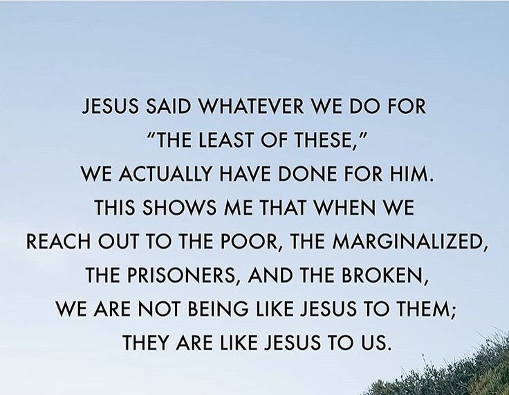 """#DisappointMeIn4Words as per Jesus  Being unkind to poor  #Jesus: """"Truly, I say to you, as you did it to one of the least of these my brothers, you did it to me."""" (Matthew 25:35-46)  #God #HolySpirit #Bible #Christian #Inspire #Prayer #kindness #WednesdayWisdom #WednesdayMotivation"""